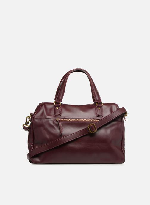 Handtaschen Nat & Nin Panama weinrot ansicht von vorne
