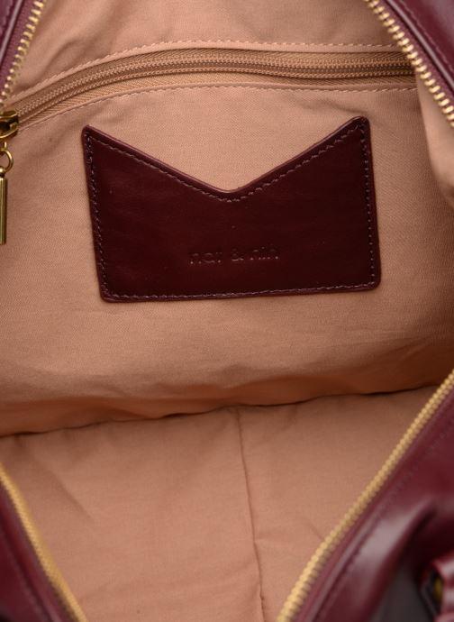 Handtaschen Nat & Nin Panama weinrot ansicht von hinten