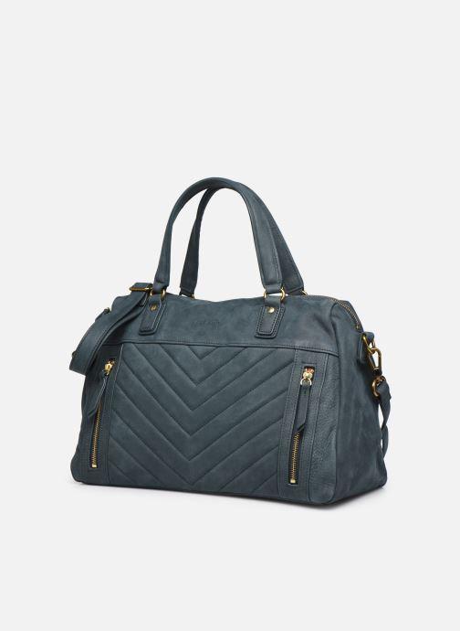 Handtaschen Nat & Nin Panama blau schuhe getragen