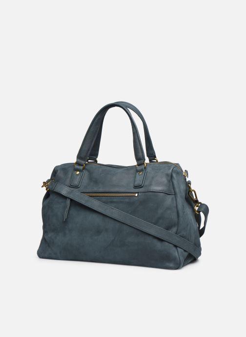 Handtaschen Nat & Nin Panama blau ansicht von rechts