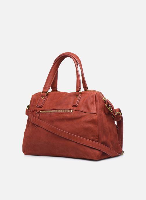 Handtaschen Nat & Nin Panama rot ansicht von rechts