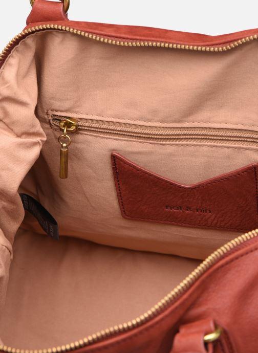 Handtaschen Nat & Nin Panama rot ansicht von hinten