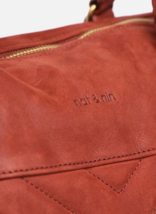 Handtaschen Nat & Nin Panama rot ansicht von links
