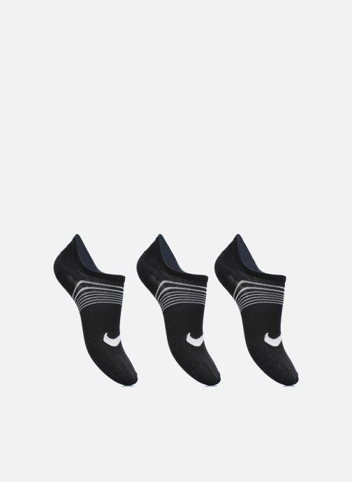 Chaussettes et collants Nike Women's Nike Performance Lightweight Training Footie 3PR Noir vue détail/paire