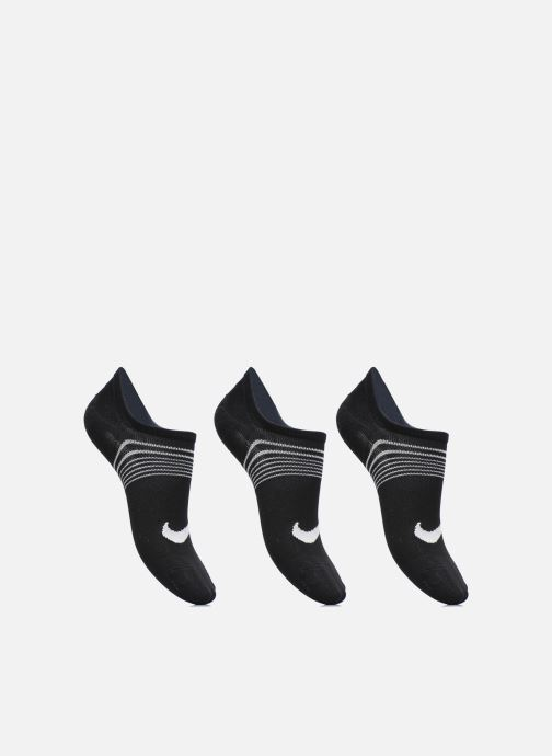Chaussettes et collants Nike Women's Nike Performance Lightweight Training Footie 3PR Noir vue détail/paire