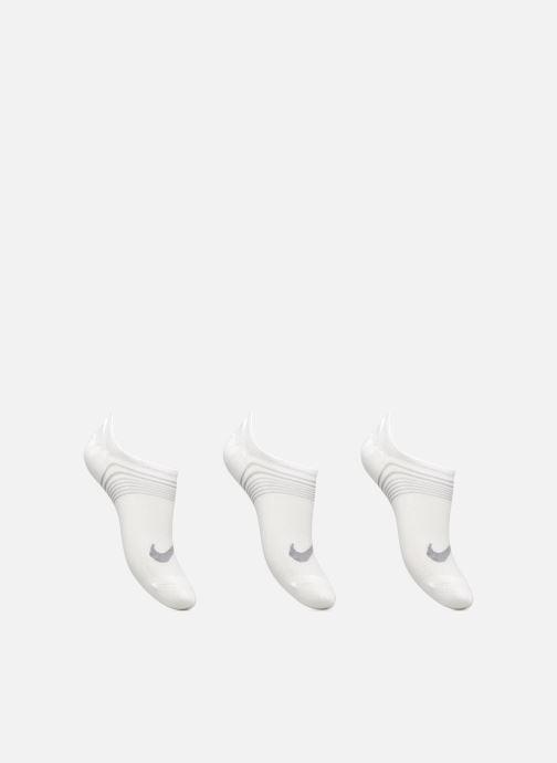 Chaussettes et collants Nike Women's Nike Performance Lightweight Training Footie 3PR Blanc vue détail/paire