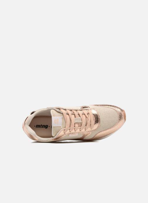 Sneakers MTNG Rio 69245 Goud en brons links