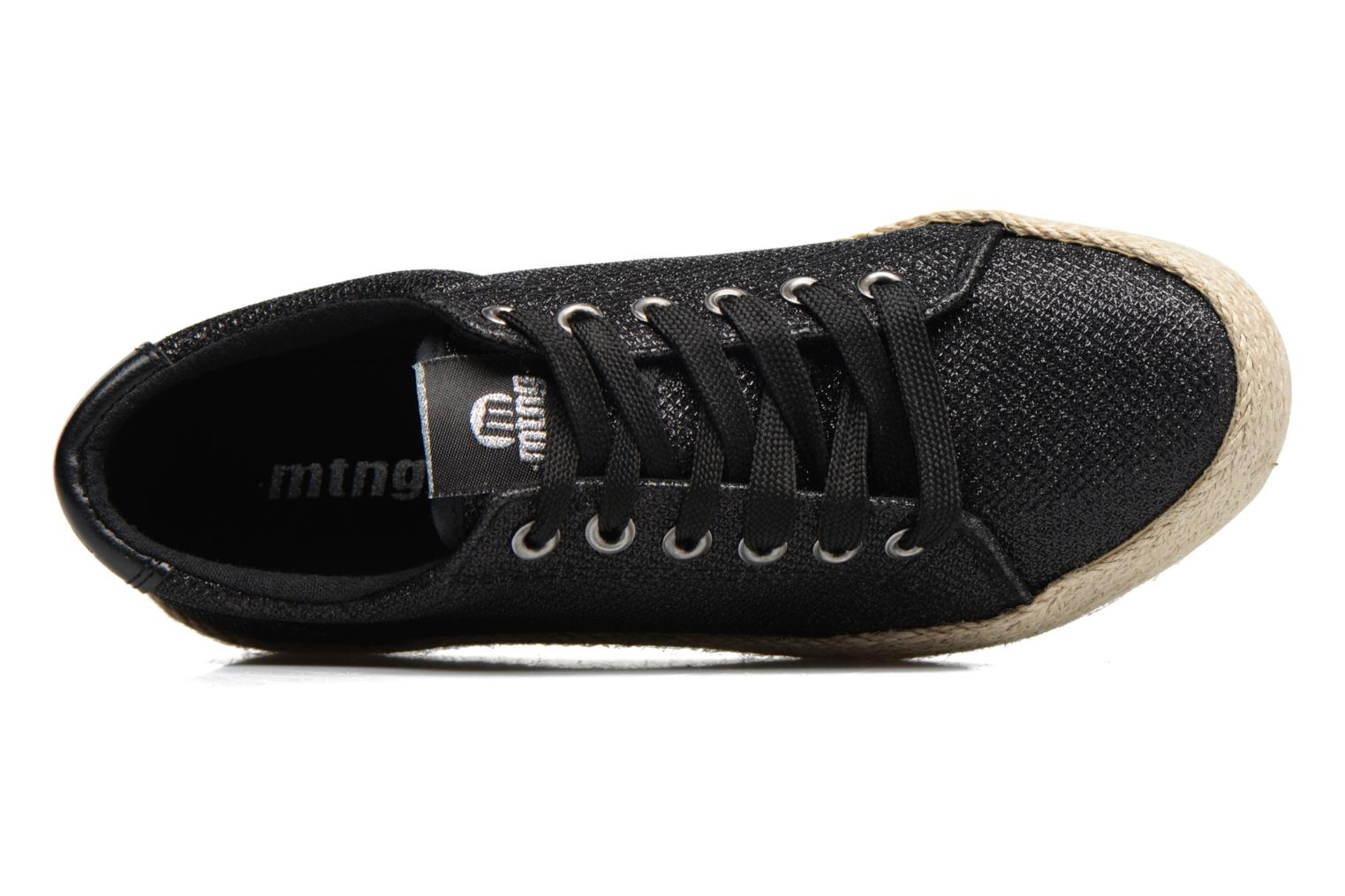 Sneakers MTNG Evan 69223 Nero immagine sinistra