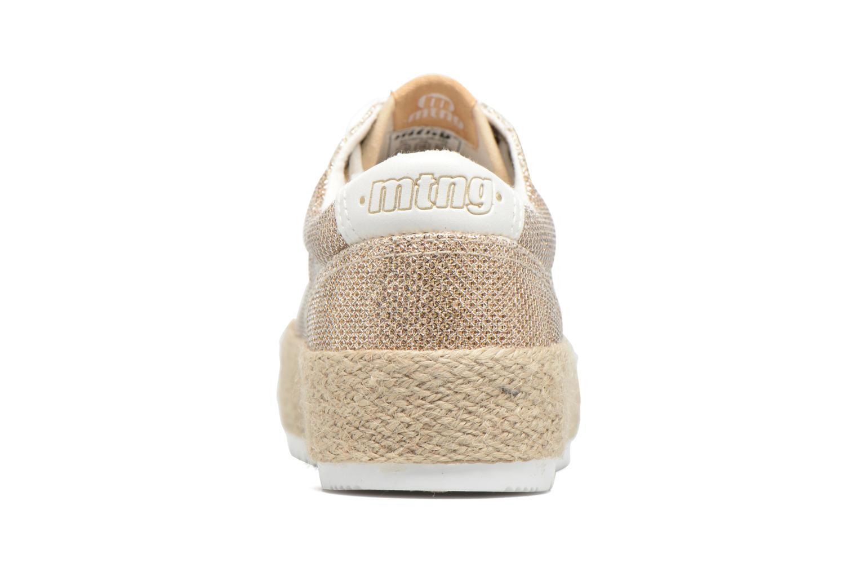 Sneakers MTNG Evan 69223 Oro e bronzo immagine destra