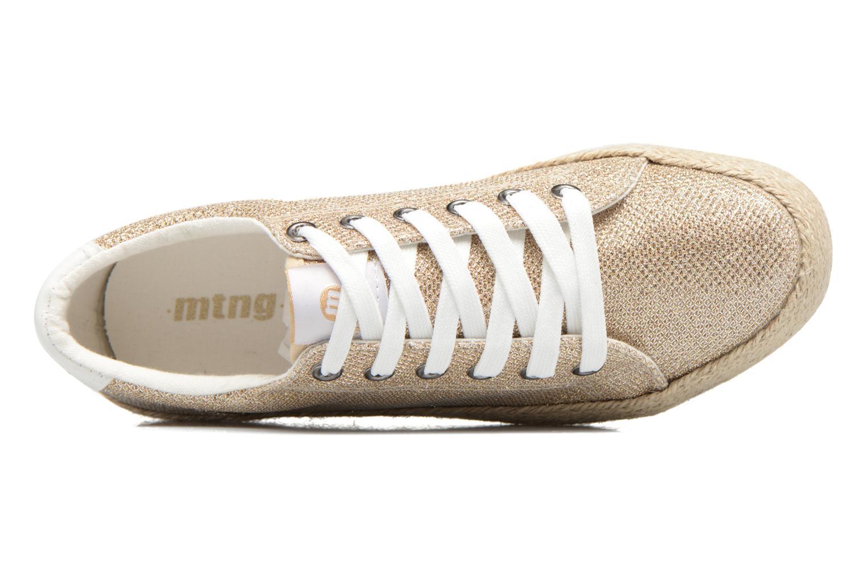 Sneakers MTNG Evan 69223 Oro e bronzo immagine sinistra