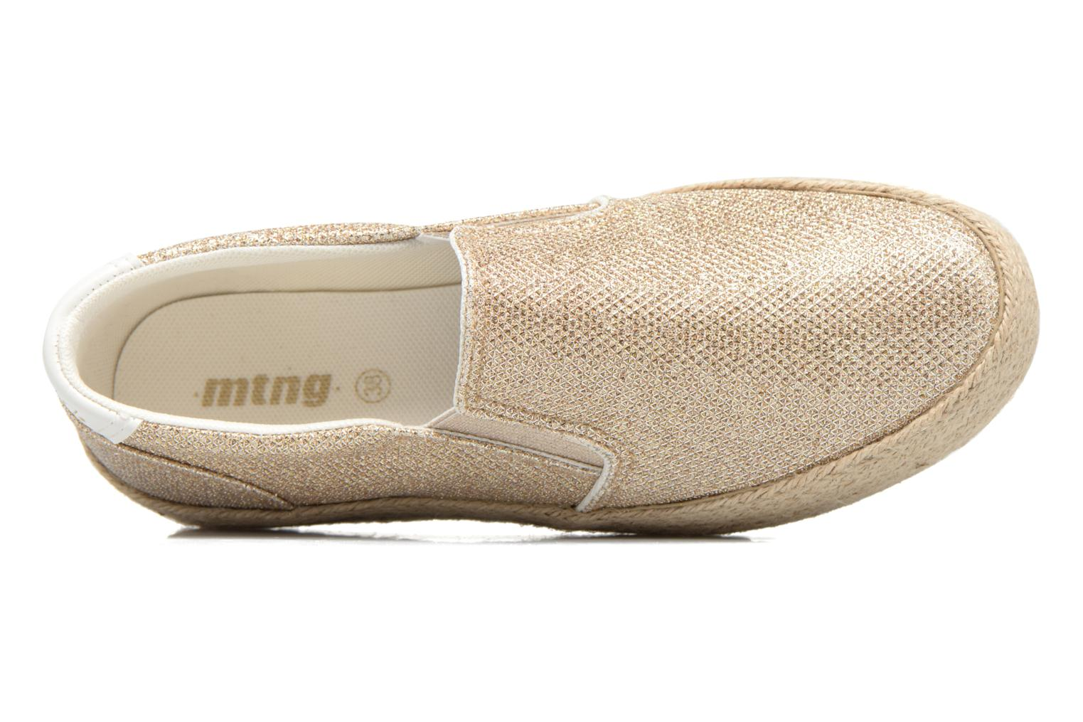 Mocassins MTNG Evan 69224 Goud en brons links