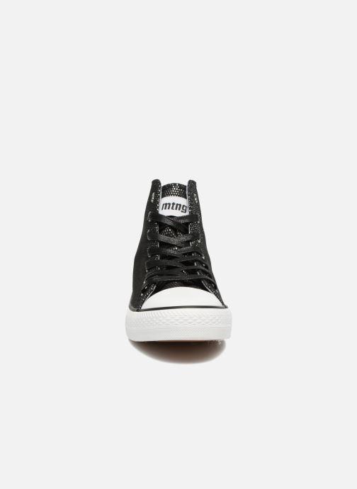 Baskets MTNG Emi 13992 Noir vue portées chaussures
