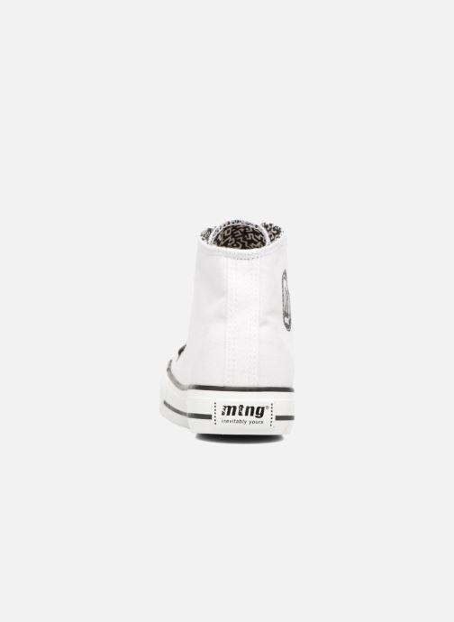 Baskets MTNG Emi 13992 Blanc vue droite