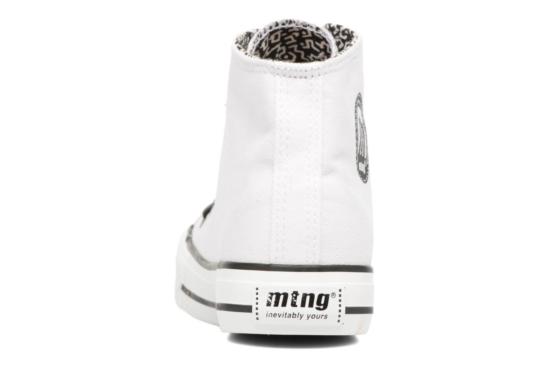 Sneakers MTNG Emi 13992 Wit rechts