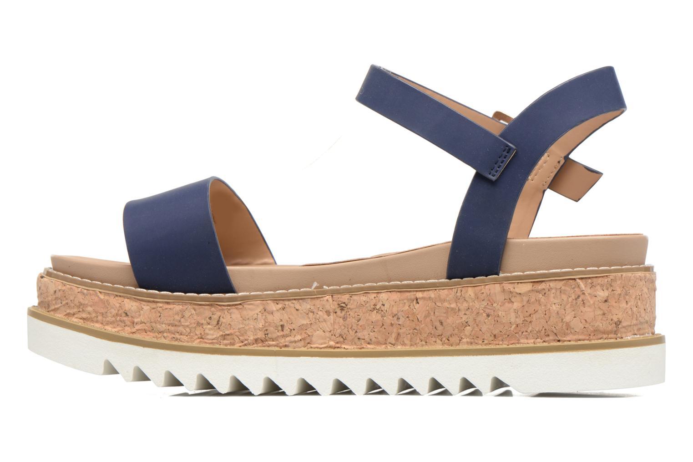 Sandales et nu-pieds MTNG Virginia 50914 Bleu vue face