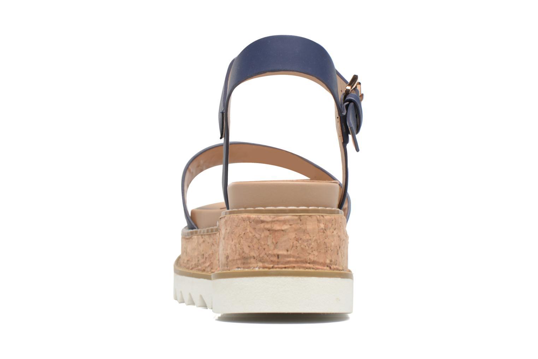Sandales et nu-pieds MTNG Virginia 50914 Bleu vue droite