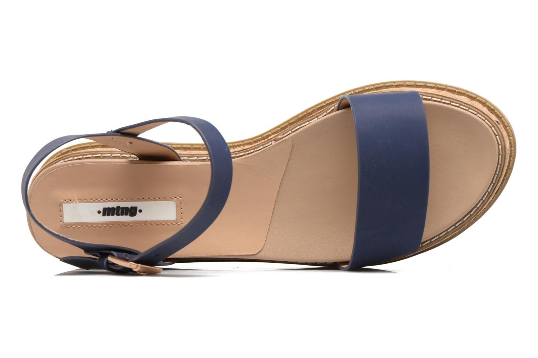 Sandales et nu-pieds MTNG Virginia 50914 Bleu vue gauche