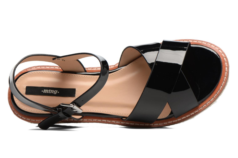 Sandales et nu-pieds MTNG Alexandra 55409 Noir vue gauche