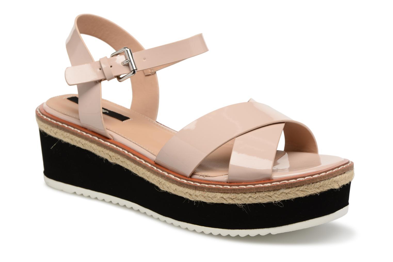 Sandaler MTNG Alexandra 55409 Beige detaljeret billede af skoene