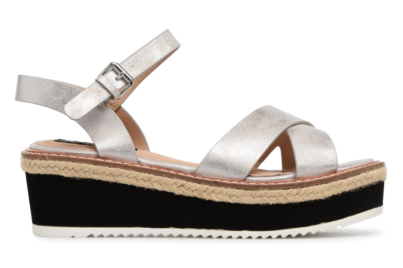 Sandales et nu-pieds MTNG Alexandra 55409 Argent vue derrière
