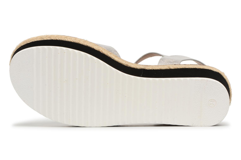 Sandales et nu-pieds MTNG Alexandra 55409 Argent vue haut