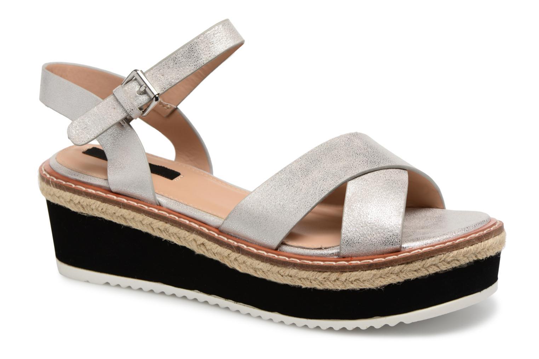 Sandales et nu-pieds MTNG Alexandra 55409 Argent vue détail/paire