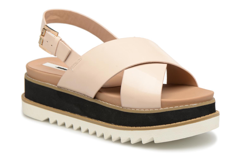 Sandaler MTNG Virginia 50915 Beige detaljeret billede af skoene