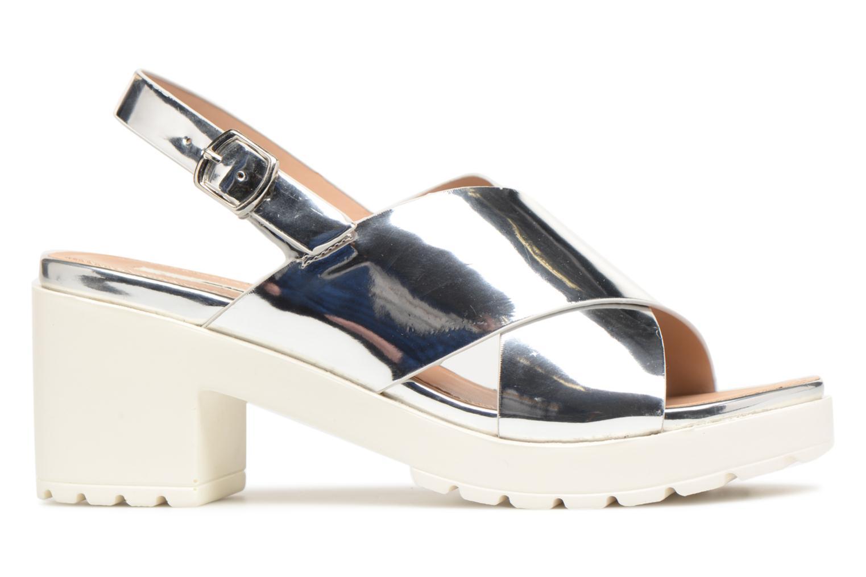 Sandali e scarpe aperte MTNG Plexy 55413 Argento immagine posteriore