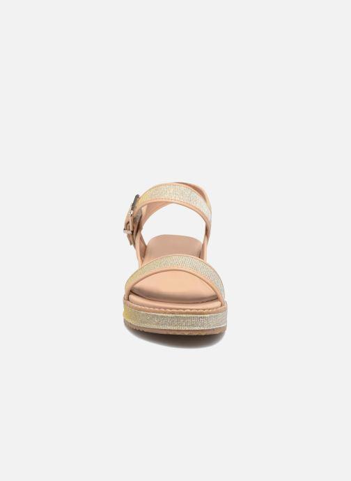 MTNG Marguerita 50801 (Or et bronze) - Sandales et nu-pieds (295475)