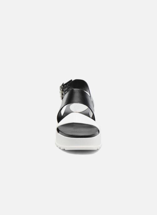 Sandales et nu-pieds Diesel D-Yeletta WS Noir vue portées chaussures