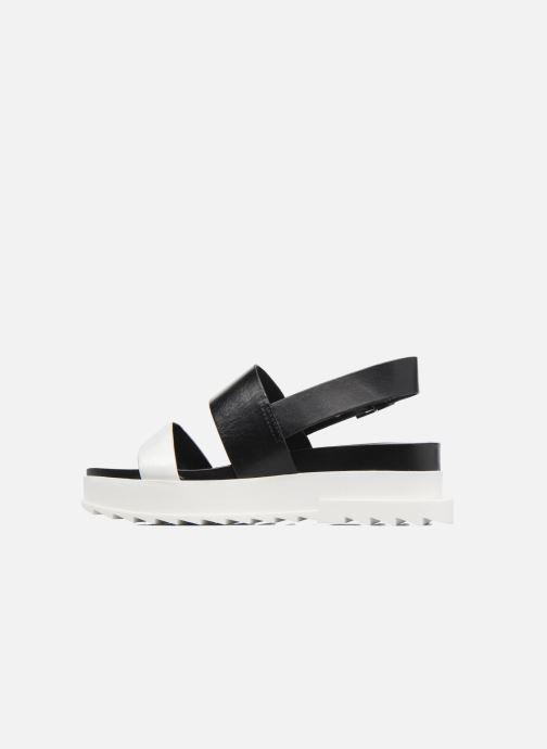 Sandales et nu-pieds Diesel D-Yeletta WS Noir vue face