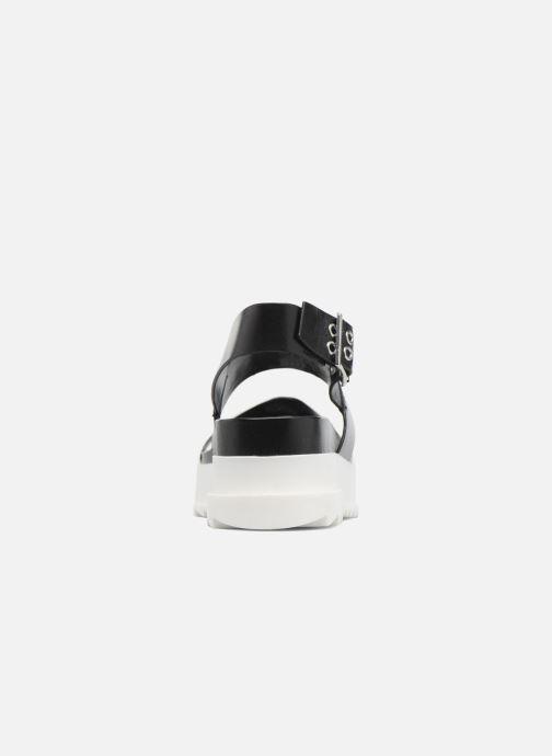 Sandales et nu-pieds Diesel D-Yeletta WS Noir vue droite