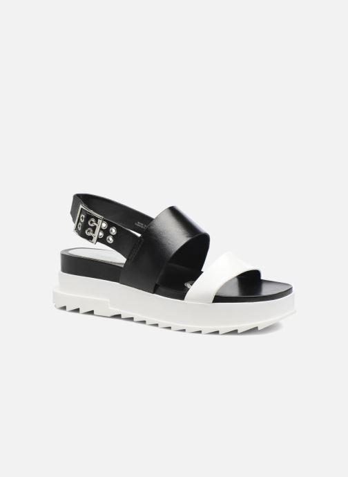Sandales et nu-pieds Diesel D-Yeletta WS Noir vue détail/paire