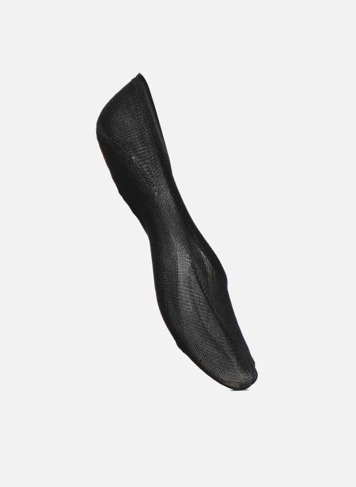 Strumpor och strumpbyxor BLEUFORÊT DUO INVISIBLES BALLERINES Svart detaljerad bild på paret