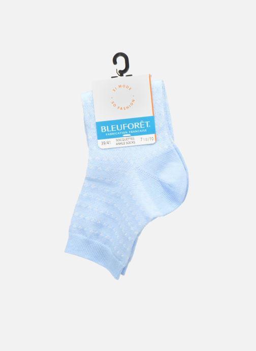 Chaussettes et collants BLEUFORÊT SOCQUETTES PAILLETTES Bleu vue derrière