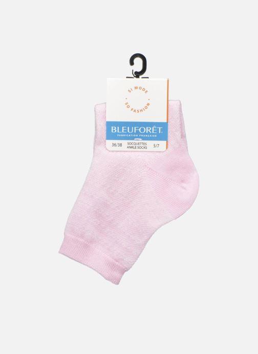 Strømper og tights BLEUFORÊT SOCQUETTES PAILLETTES Pink se bagfra