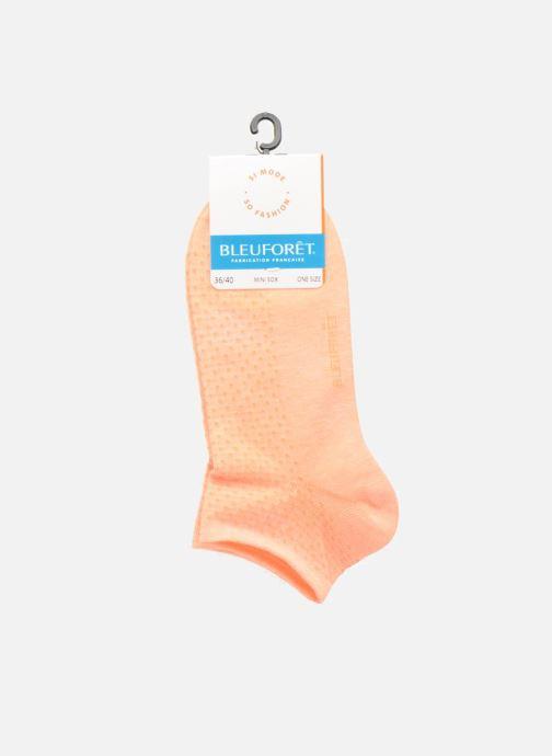 Chaussettes et collants BLEUFORÊT MINI-SOX SORBET POIS Orange vue derrière
