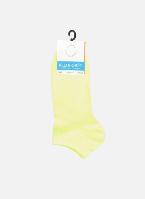 Sokken en panty's BLEUFORÊT MINI-SOX SORBET POIS Geel achterkant