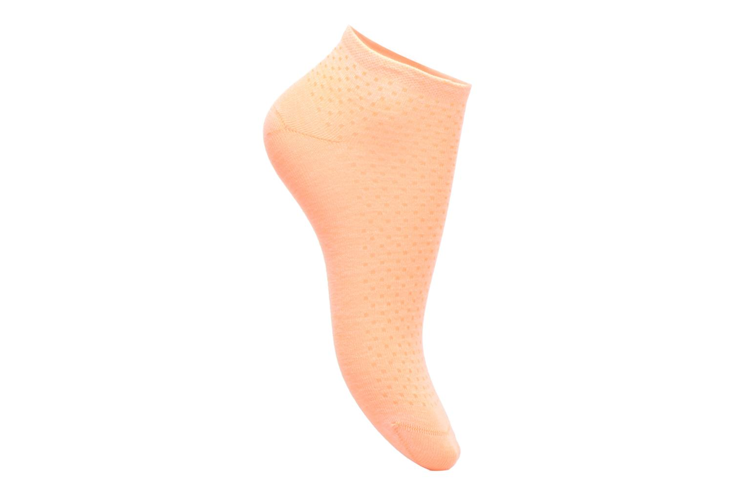 Socks & tights BLEUFORÊT MINI-SOX SORBET POIS Orange view from the left