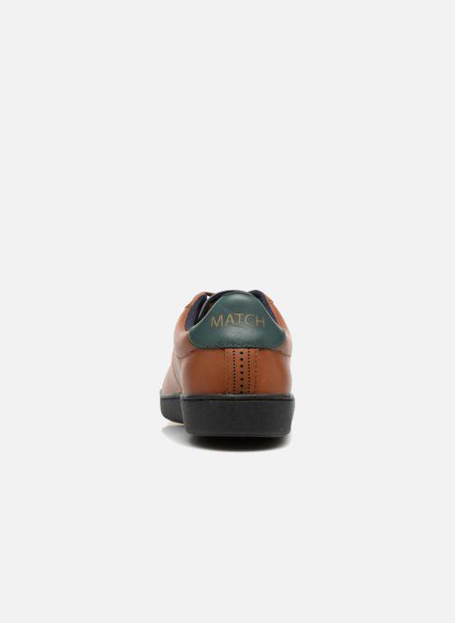 Baskets Faguo Hosta Set & Match Marron vue droite