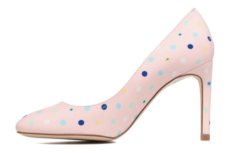 Zapatos de tacón Faguo Escarpin Faguo X Mellow Yellow Rosa vista de frente
