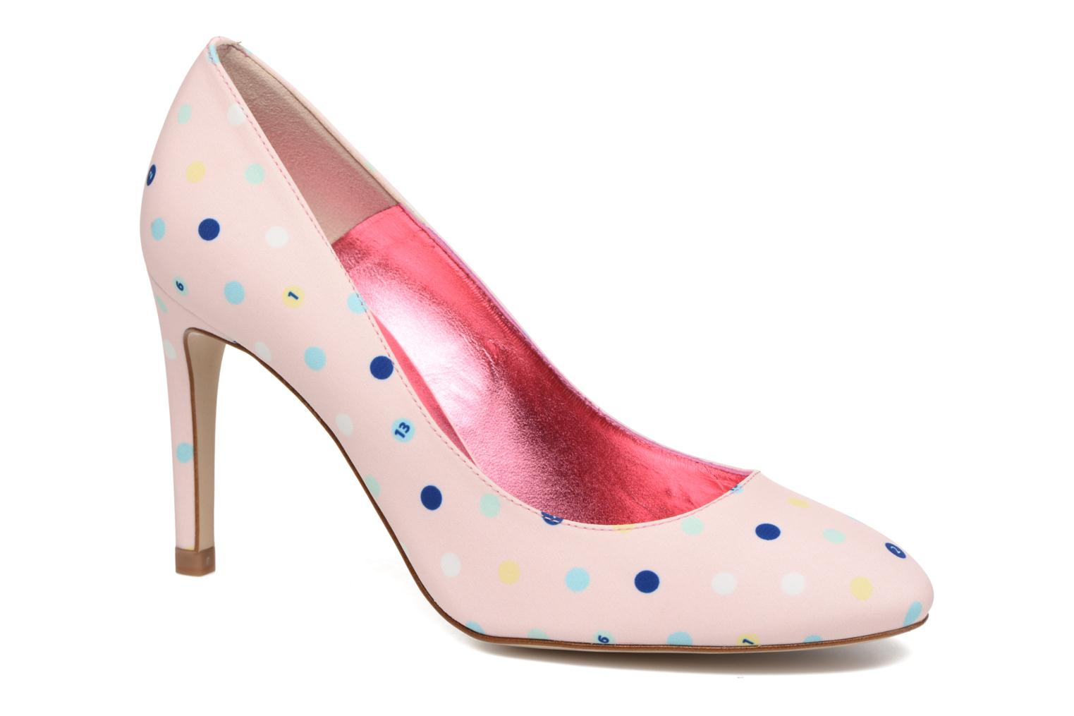 Pumps Faguo Escarpin Faguo X Mellow Yellow Roze detail