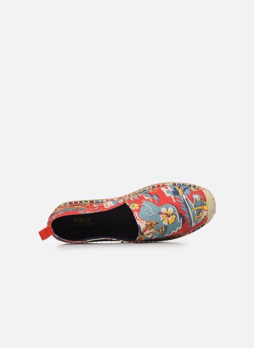 Espadrilles Polo Ralph Lauren Barron Multicolore vue gauche