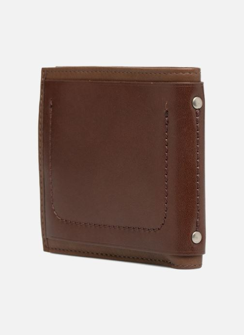 Wallets & cases Antonyme by Nat & Nin Viktor Brown view from the right