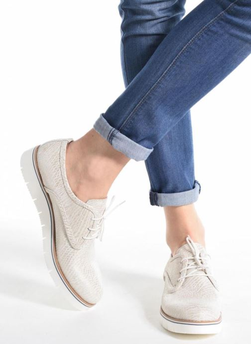 Zapatos con cordones Sweet Lemon L.27.Nikoli Blanco vista de abajo
