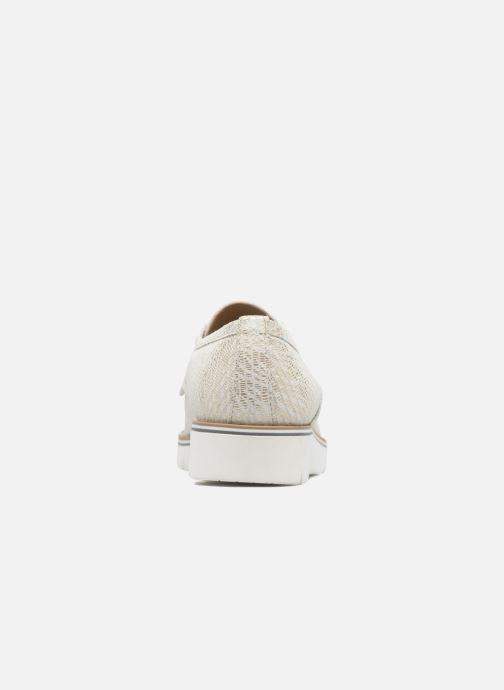Zapatos con cordones Sweet Lemon L.27.Nikoli Blanco vista lateral derecha