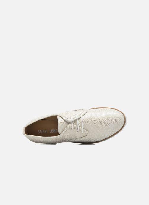 Zapatos con cordones Sweet Lemon L.27.Nikoli Blanco vista lateral izquierda