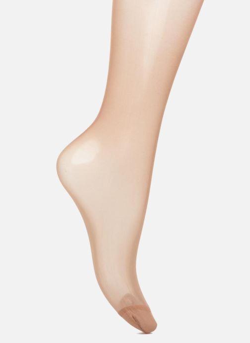 Socken & Strumpfhosen Dim Collants Sublim Ventre Plat pack de 2 beige ansicht von vorne