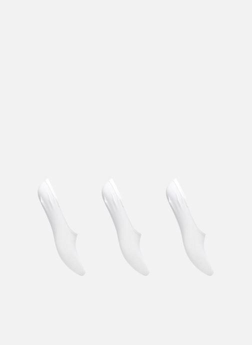 Chaussettes et collants Dim Protèges-Pieds spécial Baskets Lot de 3 Blanc vue détail/paire