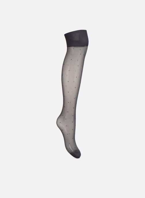 Socken & Strumpfhosen Dim Mi-Bas Plumetis schwarz schuhe getragen